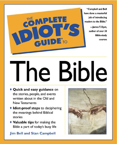 Complete Idiot's Guide to the Bible   1999 edition cover