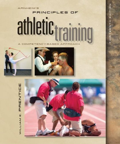 Arnheim's Principles of Athletic Training A Competency-Based Approach with ESims 13th 2009 edition cover