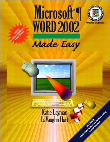 Microsoft Word 2002 Made Easy  2002 edition cover