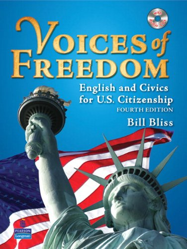 Voices of Freedom English and Civics for U. S. Citizenship 4th 2010 edition cover
