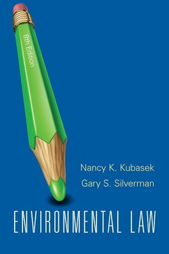 Environmental Law  8th 2014 edition cover