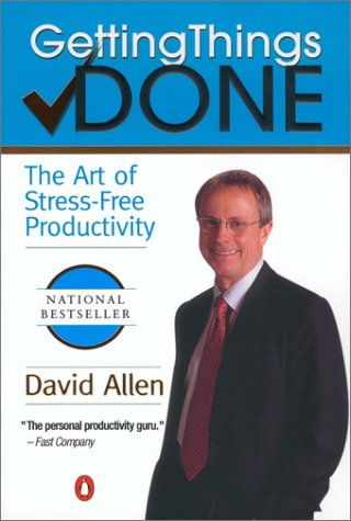 Getting Things Done The Art of Stress-Free Productivity  2001 9780142000281 Front Cover
