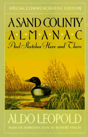 Sand County Almanac And Sketches Here and There Special  edition cover