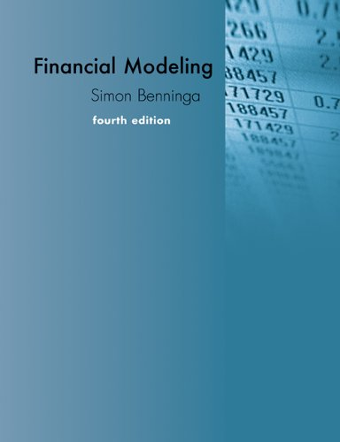 Financial Modeling  4th 2014 edition cover