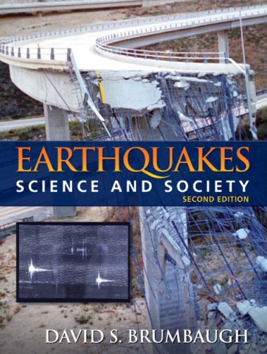 Earthquakes Science and Society 2nd 2010 edition cover