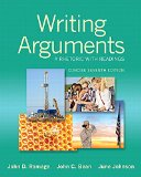 Writing Arguments: A Rhetoric With Readings  2015 edition cover
