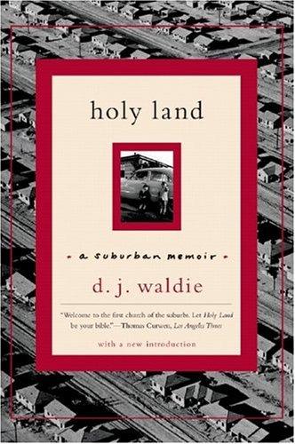 Holy Land A Suburban Memoir  2005 edition cover