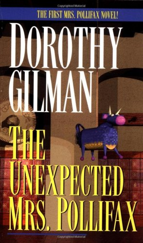 Unexpected Mrs. Pollifax   1966 edition cover