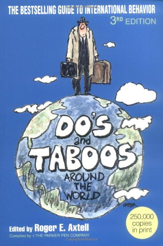 Do's and Taboos Around the World  3rd 1993 (Revised) edition cover