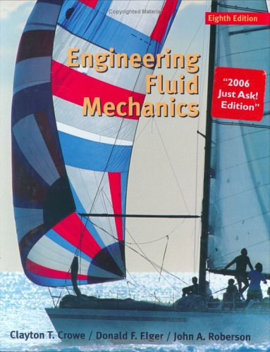 Engineering Fluid Mechanics  8th 2006 9780471946281 Front Cover