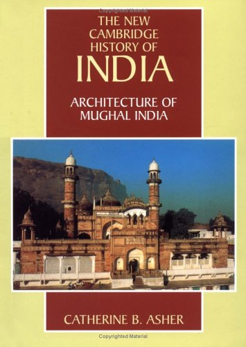 Architecture of Mughal India   1992 edition cover