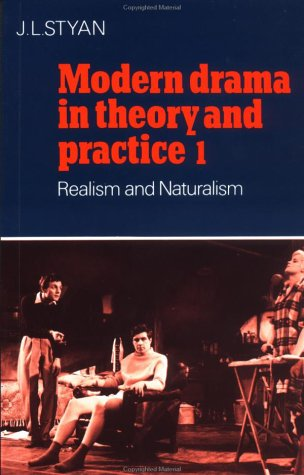 Modern Drama in Theory and Practice Realism and Naturalism  2006 edition cover