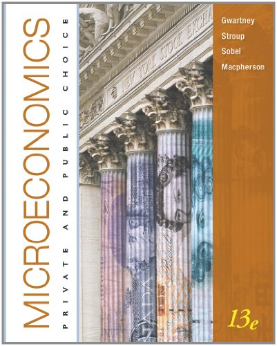 Microeconomics Private and Public Choice 13th 2011 9780538452281 Front Cover