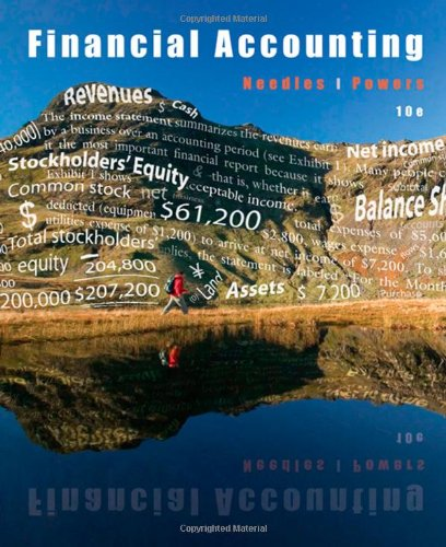 Financial Accounting  10th 2010 edition cover