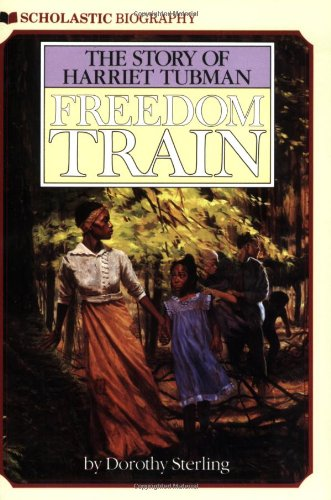 Freedom Train The Story of Harriet Tubman Reprint edition cover