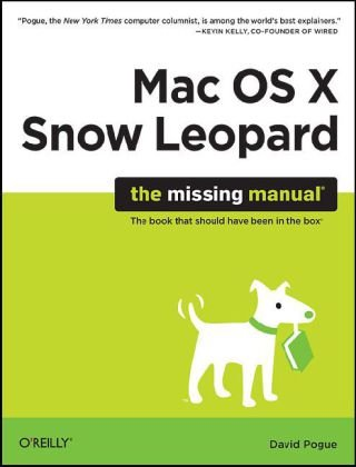 Mac OS X Snow Leopard The Book That Should Have Been in the Box  2009 edition cover