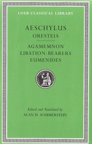 Oresteia Agamemnon, Libation-Bearers, Eumenides  2008 edition cover