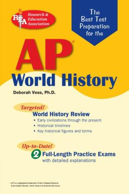 Best Test Preparation for the AP World History Exam  N/A 9780738601281 Front Cover