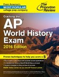 Cracking the AP World History Exam, 2016 Edition   2015 edition cover