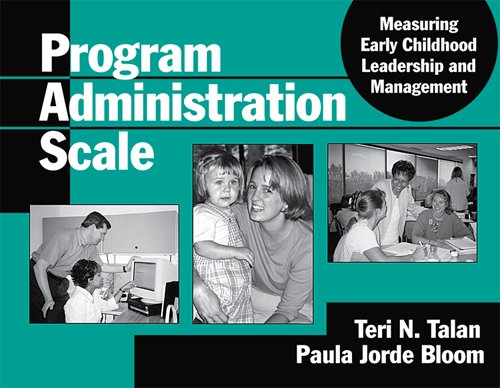 Program Administration Scale: Measuring   2004 edition cover