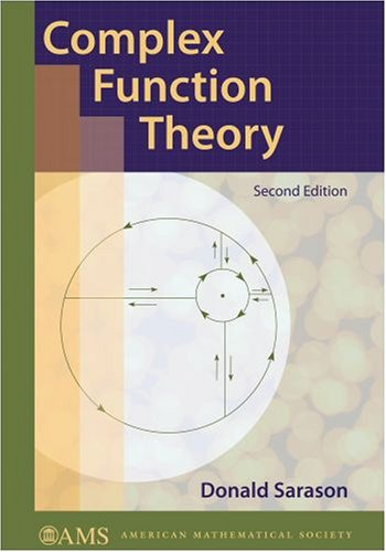 Complex Function Theory  2nd 2007 (Revised) edition cover