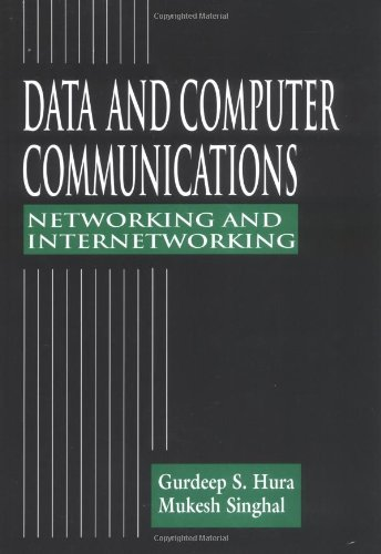 Data and Computer Communications Networking and Internetworking  2001 edition cover