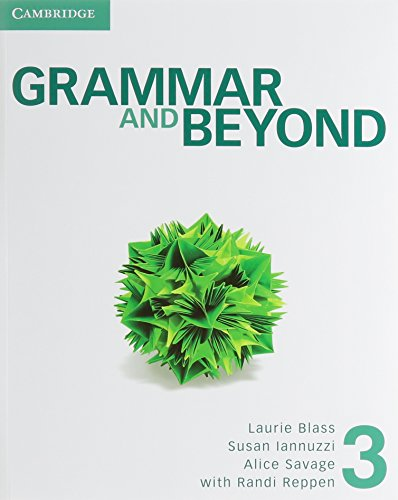 GRAMMAR AND BEYOND LEVEL 3 STUDENT'S BOOK AND ONLINE WORKBOOK PACK   2013 edition cover