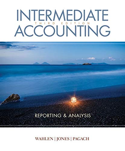 Intermediate Accounting: Reporting and Analysis  2019 9781337788281 Front Cover