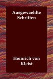 Ausgewaehlte Schriften N/A 9781406806281 Front Cover