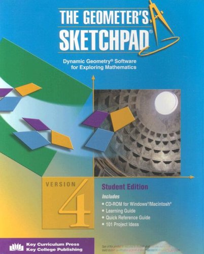 Geometer's Sketchpad (R) 1st 2002 (Student Manual, Study Guide, etc.) edition cover