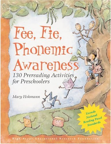 Fee, Fie, Phonemic Awareness : 130 Prereading Activities for Preschoolers  2002 edition cover