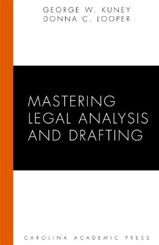 Mastering Legal Analysis and Drafting   2009 edition cover