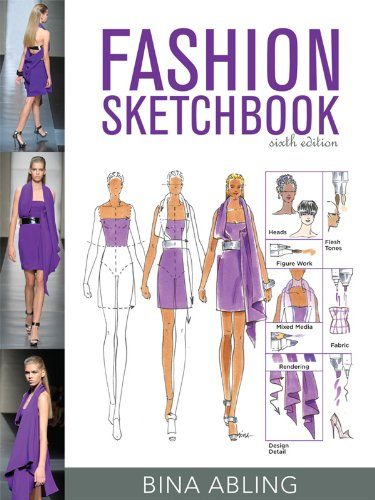 Fashion Sketchbook  6th 2012 edition cover