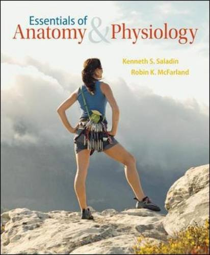 Essentials of Anatomy and Physiology   2014 edition cover
