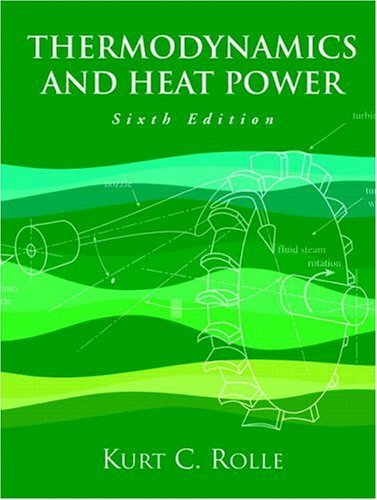 Thermodynamics and Heat Power  6th 2005 edition cover