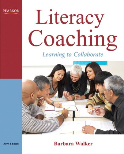 Literacy Coaching Learning to Collaborate  2010 edition cover