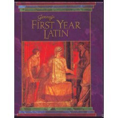 First Year Latin   1990 (Student Manual, Study Guide, etc.) edition cover