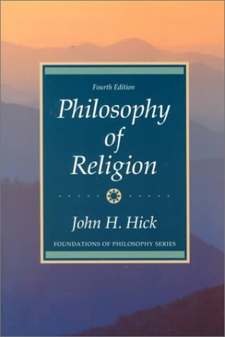 Philosophy of Religion  4th 1990 edition cover