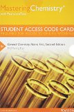 MasteringChemistry with Pearson EText -- Standalone Access Code Card -- for General Chemistry Atoms First 2nd 2014 edition cover