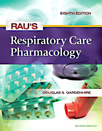 Rau's Respiratory Care Pharmacology  8th 2012 edition cover