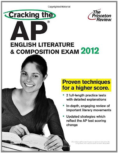 Cracking the AP English Literature and Composition Exam, 2012 Edition  N/A edition cover