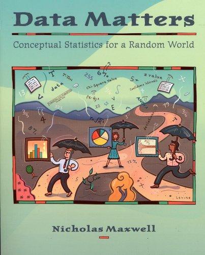Data Matters Conceptual Statistics for a Random World  2004 edition cover