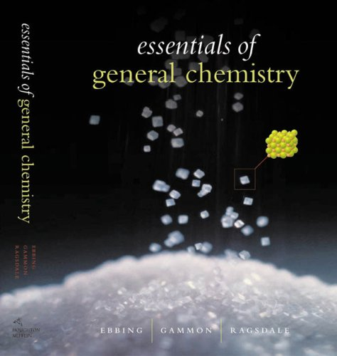 Essentials of General Chemistry   2003 9780618223282 Front Cover