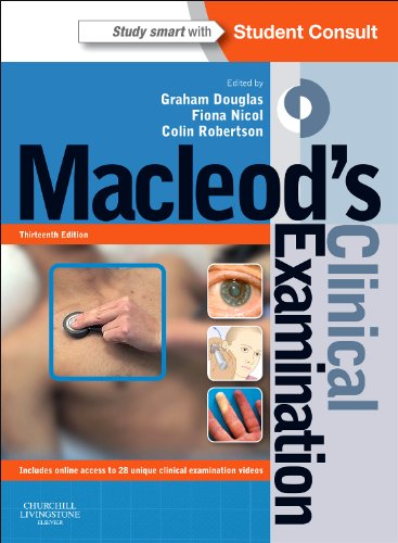 Macleod's Clinical Examination With STUDENT CONSULT Online Access 13th 2013 edition cover