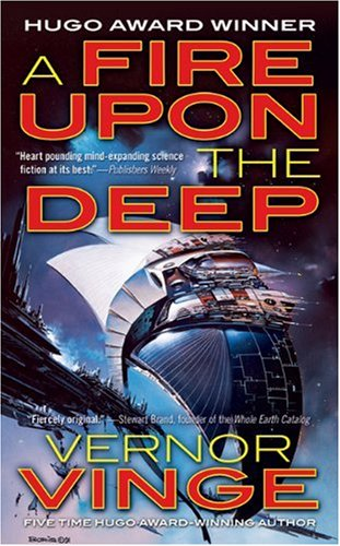 Fire upon the Deep   1992 (Revised) edition cover