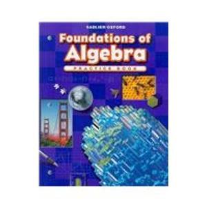 Progress in Mathematics: Foundations of Algebra  2009 edition cover