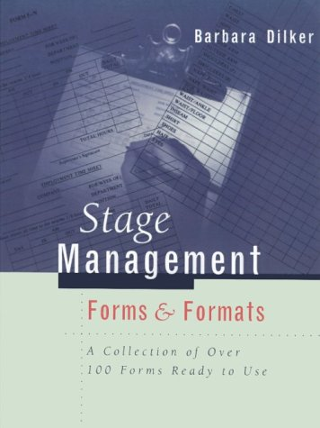 Stage Management Forms and Formats  Revised  edition cover