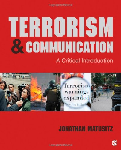 Terrorism and Communication A Critical Introduction  2013 edition cover