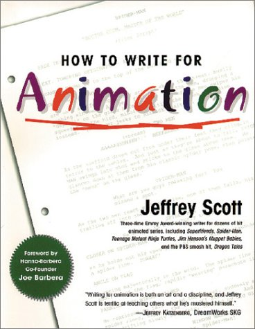 How to Write for Animation   2004 edition cover