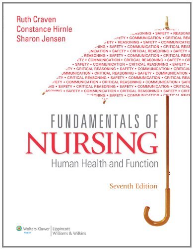 Fundamentals of Nursing Human Health and Function with Access Code 7th 2011 (Revised) 9781605477282 Front Cover